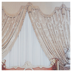 Padded Pelmet Curtain
